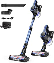 Best APOSEN Cordless Vacuum Cleaner, 24KPa Powerful Suction 250W Brushless Motor 4 in 1 Stick Vacuum for Home Hard Floor Carpet Car Pet H250 Blue Reviews