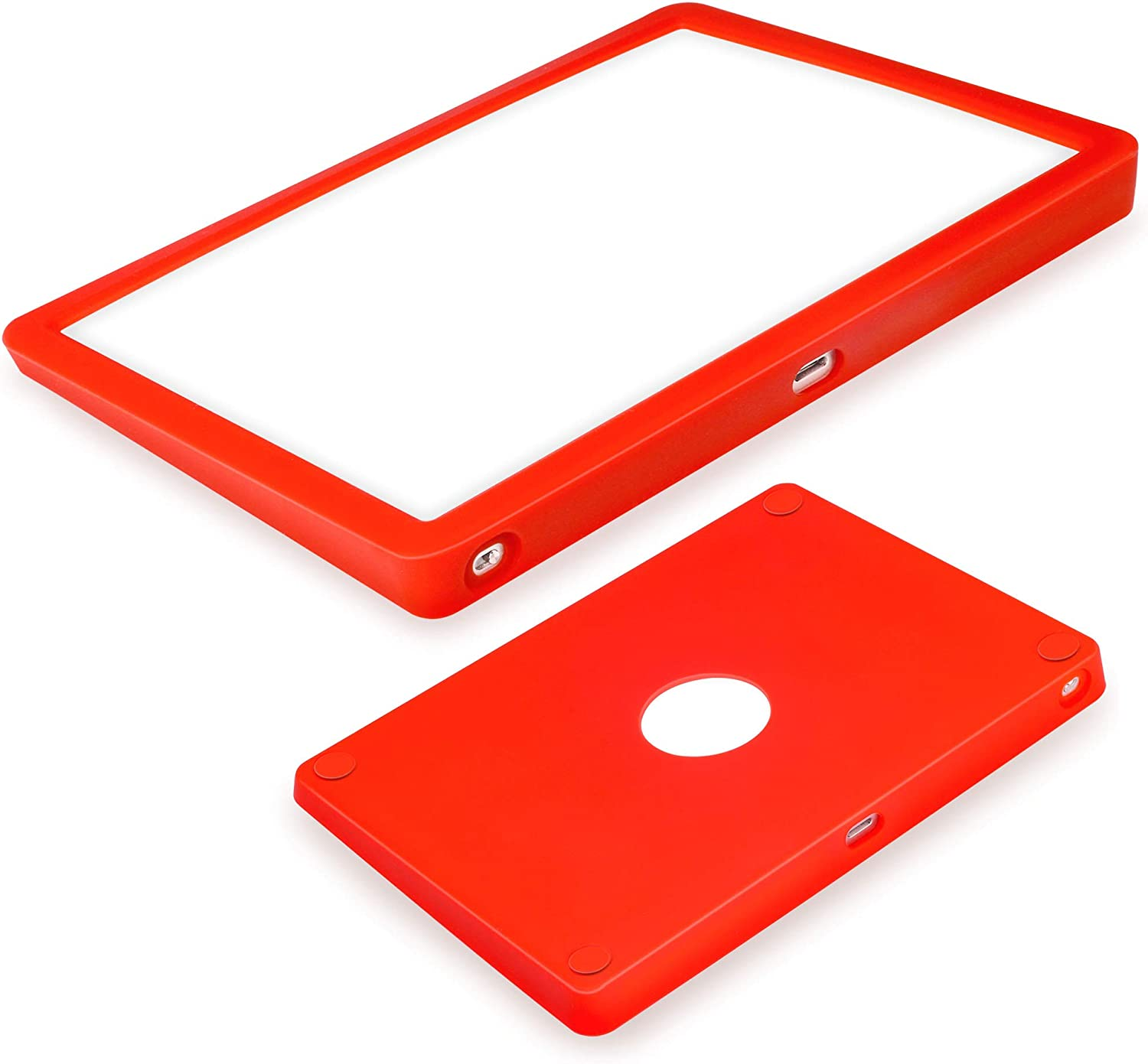 Silicone case for Magic Trackpad 2 Silicon case for Apple Wireless Touchpad Apple Trackpad Protective Cover,Anti-dust and Anti-Scratch Washable Wear-Resistant Silicone Skin (red)