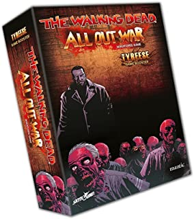 The Walking Dead All Out War : Tyreese Booster Miniatures