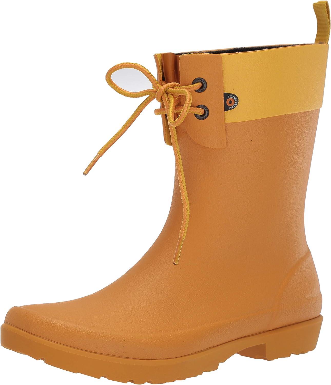 BOGS Women's Flora 2 Eye Waterproof Garden Rain Boot