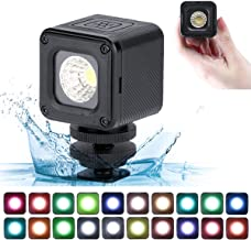 Super Bright 10m Waterproof LED Video Light - ULANZI L1 Pro Vlog Dimmable Fill Light on Camera with 20pcs Color Filters for Yuneec Drones DJI Osmo Pocket Osmo Action Gopro 7/6/5 Sony DSLR Camera