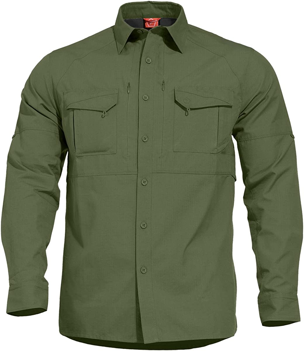 Pentagon Free Shipping New Men's Chase Max 53% OFF Tactical Camo Green Shirt