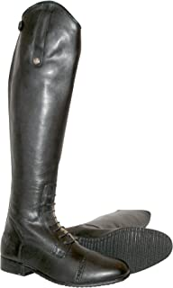Mark Todd Adults Short Leather Long Riding Boots