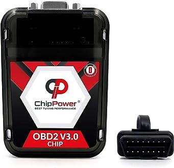 ChipPower Boitier Additionnel CS2 pour Ranger 2.5 TD 80 kW 109 CV 1999-2006 Tuning Box Diesel