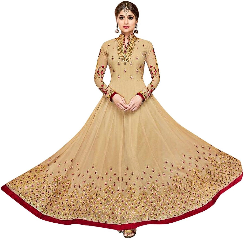 Bollywood Collection Anarkali Dresses for women Salwar Kameez Ceremony Wedding 910 5