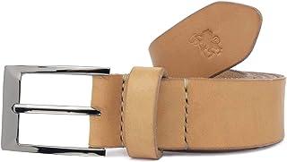Cintura in cuoio uomo artigianale Larth personalizzabile gratis