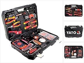طقم عدة مفكات yt-39009 من ياتو - مكون من 68 قطعة - طقم كهربائي