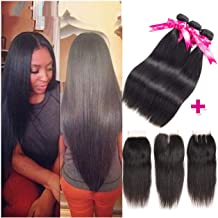 Brazilian Straight Hair Bundles Natural Color 100% Human Hair Weave Bundles 8-30inch Remy Hair Extension 1 Piece,22inches