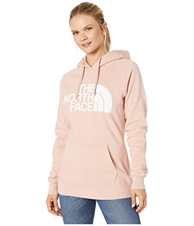 The North Face Half Dome Pullover Hoodie (Misty Rose/TNF White) Women