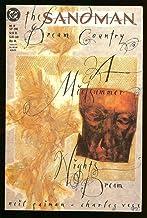 The Sandman #19 Dream Country Error Edition Neil Gaiman 1989