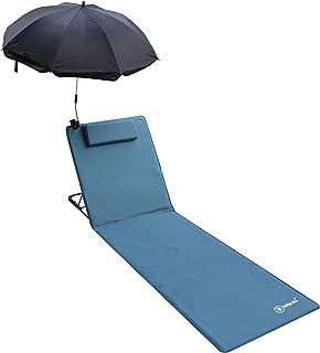 Auplew Sedia a Sdraio Asciugamano da Spiaggia Giardino per Le Vacanze Piscina Piscina Salotti Borsa per Il Trasporto Sedie Copertura Asciugamano Foderato