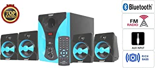 KEKROWN Cortina m-15 DJ 4.1 Channel 9500W PMPO Home Theater System with Inbuilt Bluetooth, FM and USB Player