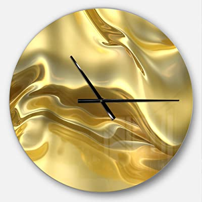 Amazon com: Univer-Co Modern 3D Wall Clocks Battery Operated