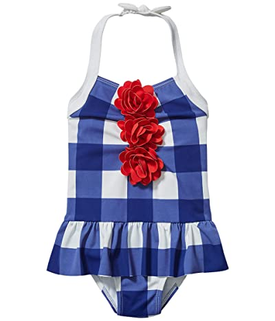 Janie and Jack Gingham One-Piece Swimsuit (Toddler/Little Kids/Big Kids)