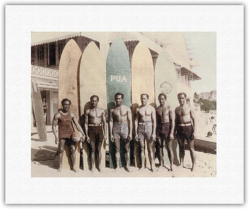 Hawaiian Duke Kahanamoku Brothers Waikiki Free shipping anywhere in the nation - OFFicial Hawaii Surfboards