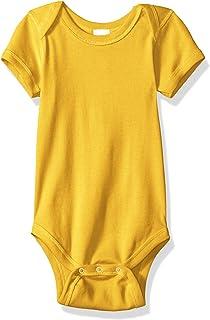 baby-girls Infant Soft Cotton Baby Rib Bodysuit
