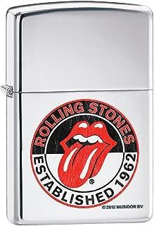 Zippo Rolling Stones 50th Anniversary High Polish Chrome Lighter
