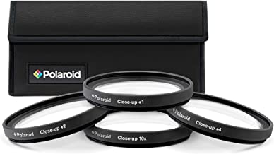 PLR Optics 67MM +1 +2 +4 +10 Close-Up Macro Filter Set with Pouch For The Nikon D5300, D5000, D3000, D3300, D3200, D5100, D5200, D3100, D7000, D7100, D750, D4, D800, D800E, D810, D600, D610, D40, D40x, D50, D60, D70, D80, D90, D100, D200, D300, D3, D3S, D700, Digital SLR Cameras Which Have Any Of These (18-135mm, 18-105mm, 18-70mm, 16-85mm, 35mm) Nikon Lenses