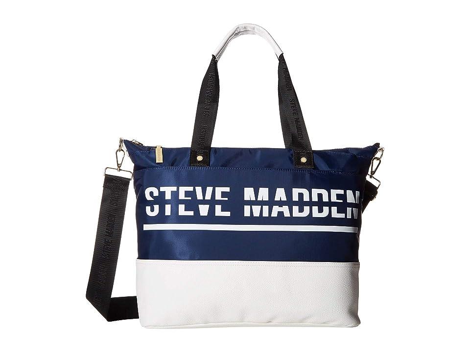 Steve Madden Bgym Duffel Bag (Navy) Duffel Bags