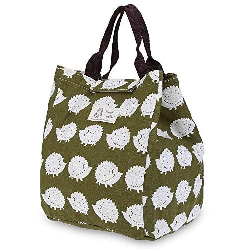 WAWJ 5 Pattern Picnic Cool Bag Cold Insulated Lunch Bag for Women Water  Resistant Canvas Cute e8283bf3e