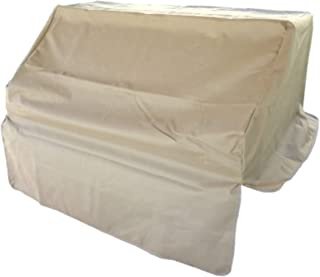 BBQ Built-in Grill Cover for Outdoor Barbecues up to 30 inches with Secure Straps and Extra Coverage to Protect Knobs