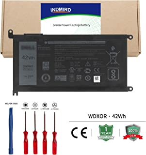 WDX0R Laptop Battery OEM Replacement Compatible with DELL Inspiron 13 5368 5378 5379 7368 14-7460, Inspiron 15 5565 5567 5568 5578 7560 7570, Inspiron 17 765 5767 3CRH3 T2JX4 FC92N
