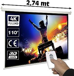 Amazon.es: pantalla 240x240 electrica - Pantallas para proyectores ...