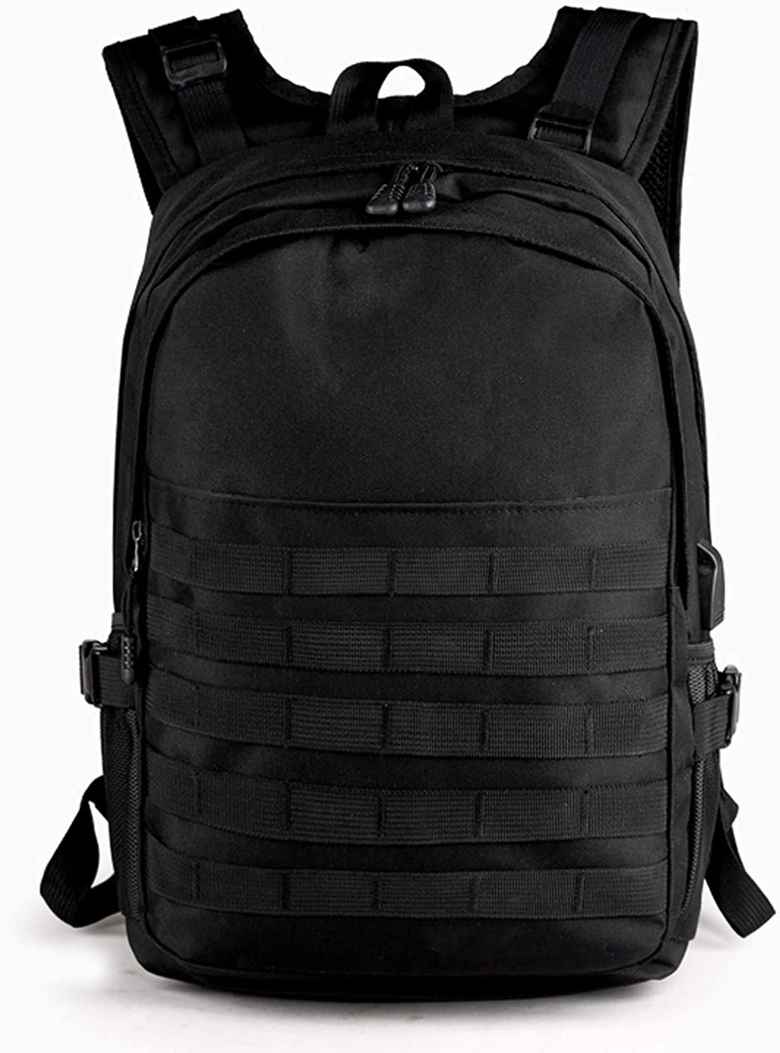 Youmay Military Tactical Backpack for Men, Outdoor Bow Hunting Backpack Travel Bag Assault Pack Army Molle Bug Out Rucksack USB Charging Port Motorcycle School Survival Hiking Camping