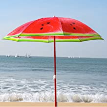 Compact Travel Folding Umbrella Watermelon Pieces Sun /& Rain Auto Open Close Protable Windproof Umbrellas