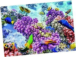 FLAMEER Cartel de Tanque de Peces Fotografía de Fondo de Pared 3D para Acuario 61x41cm -