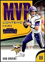 2018 Panini Contenders MVP Contenders #MVP-16 Kirk Cousins Minnesota Vikings NFL Football Trading Card