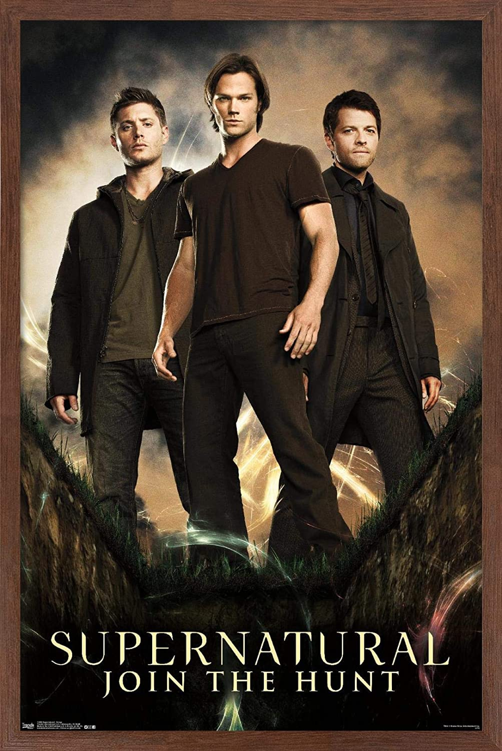 Limited time for free shipping Trends International Supernatural - Group Super sale period limited x Poster 22.375