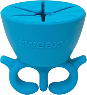 tweexy - The Original Wearable Nail Polish Bottle Holder - Beach Glass Blue