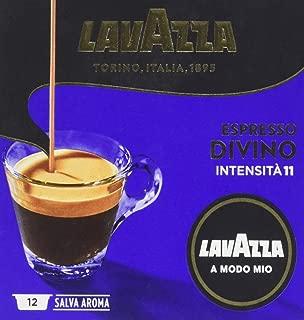 Lavazza Amm Espresso Divino Monodose di Caffè - 5 confezioni da 12 capsule [60 capsule]