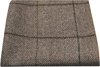 pocket square tweed jacket