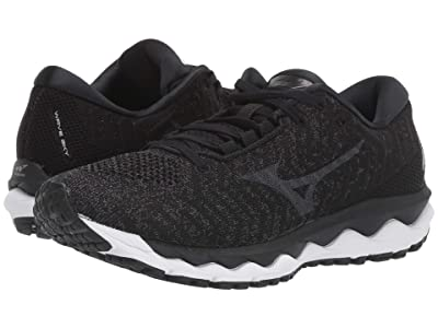 Mizuno Wave Sky Waveknit 3 (Black) Women