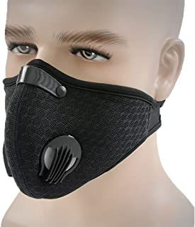 Topnisus Dust Mask with Filter for Cycling Running Dustproof Mask