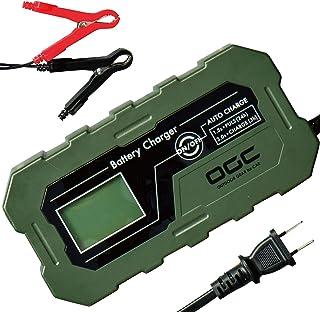 エーモン OGC バッテリーチャージャー 充電器 12V 鉛バッテリー 40~120Ah適用 ディープサイクルバッテリー対応 自動充電モード サルフェーション除去機能 「ポータブル電源システム」 8625