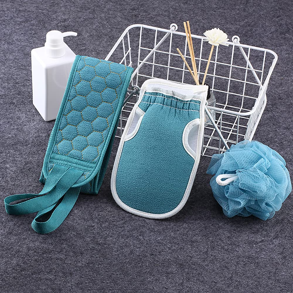 Exfoliating Back Scrubber for Showe Shower Washer Ranking TOP6 Max 44% OFF 3pcs