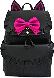 x Overwatch D.VA Ruffled-Trim Cat Ears Mini Backpack