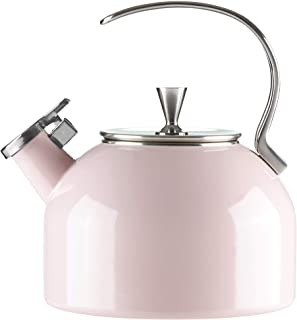 KATE SPADE 880192 Blush Deco Dot Kettle, 3.8 LB