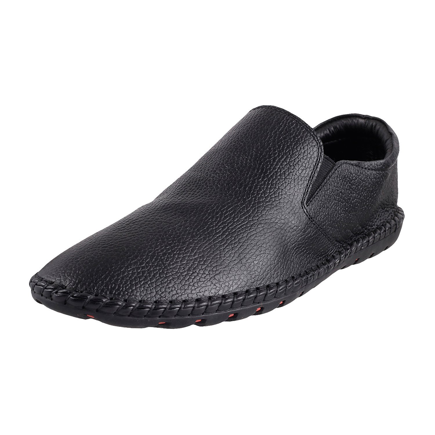 Buy Mochi Men's Leather Loafers and