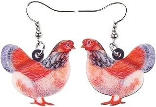 Best chicken earrings for sale Reviews