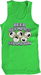 Men's Beer Olympics Champion Tank Top