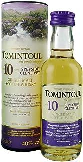 Tomintoul Whisky 10 Jahre 0,05l Miniatur inkl. Geschenkdose - Single Malt Scotch Whisky