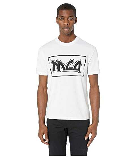 McQ Racer Logo Dropped Shoulder T-Shirt