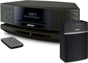 Bose Wave SoundTouch IV - Espresso Black & SoundTouch 10 - Black Bundle Wi-Fi Music Systems