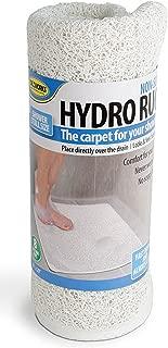 NON-SLIP HYDRO BATH AND SHOWER RUG , 29 1/2
