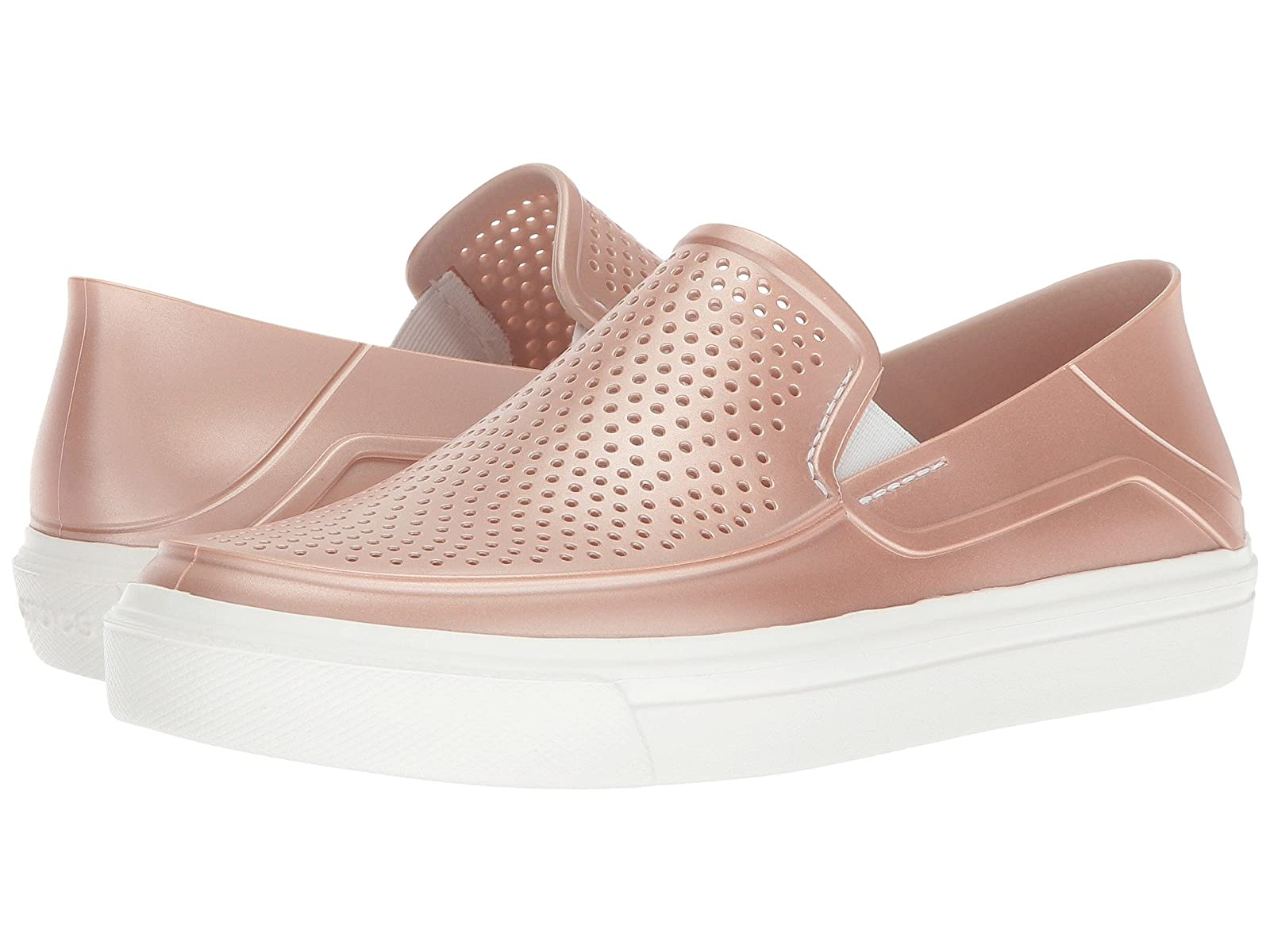 Crocs CitiLane CitiLane CitiLane Roka Metallic Slip-On fea199