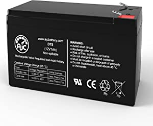 Troybilt TB55B 12V 7Ah Lawn and Garden Battery - This is an AJC Brand Replacement